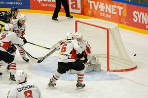 """ХК """"Донбас"""" пропустив вісім шайб від чемпіонів Латвії"""