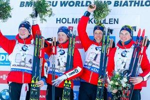 Норвегія виграла загальний залік Кубка націй в біатлоні за підсумками сезону