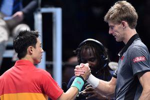 Андерсон знищив Нісікорі на Підсумковому турнірі ATP