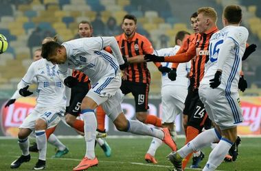 "<p style=""text-align: justify;""><span>""Динамо"" - ""Шахтар"" - 3:4. Фото shakhtar.com</span></p>"